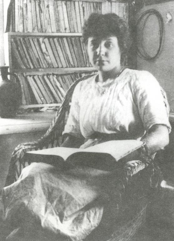 Марина Цветаева. Коктебель. 1911 г. (Фото М. Волошина)